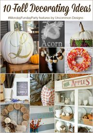 10 Fall Decorating I