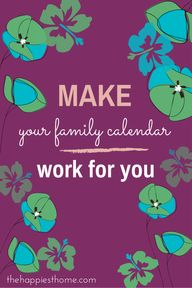 Make Your Family Cal
