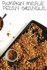 MAPLE PECAN Granola!