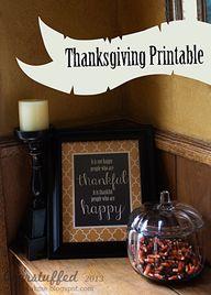 Free Thanksgiving Pr