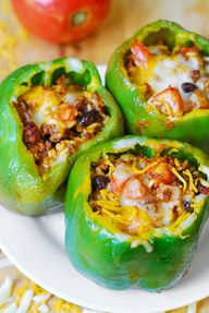 Mexican Stuffed Pepp