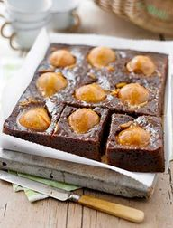 Pear and ginger tray