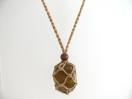 Hemp Pouch Necklace