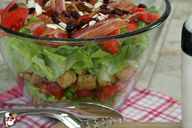 Layered BLT Salad on