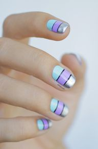 light blue, lilac, a