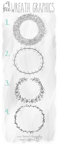 4 Free Wreath Graphi