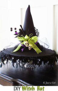 DIY Halloween Witch