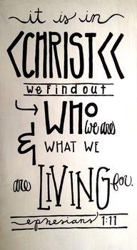 Ephesians 1:11...