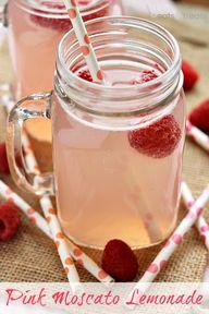 Pink Moscato Lemonad