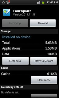 Clear Android App Ca...