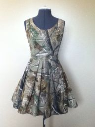 Realtree camo dress
