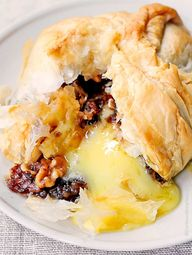 Phyllo Baked Brie wi