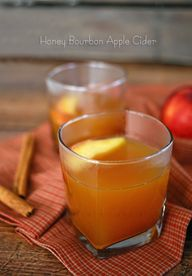 Honey Bourbon Apple