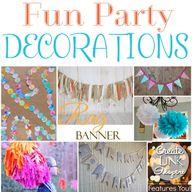 Fun Party Decoration