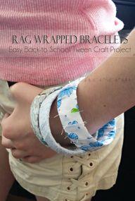 Rag Wrapped Bracelet