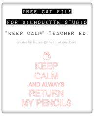 """""""Keep Calm & Always"""