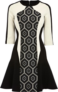 Karen Millen Geometric Dress