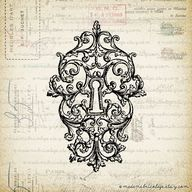 French Victorian Key