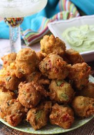 Avocado Fritters wit...