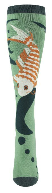 Koi Fish socks by So