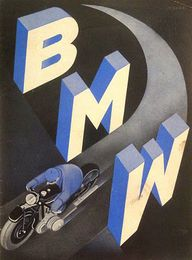 Art Deco BMW Adverti