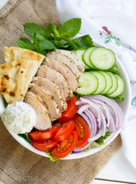 Easy Chicken Gyro Sa
