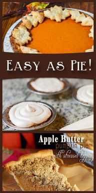 Easy as pie! So many