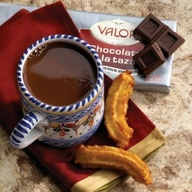 Valor a la taza con churros