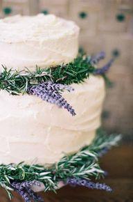 Vanilla lavender cak