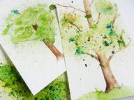 Spatter Watercolor T