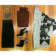 Fall fashions are fa