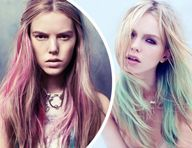 Get hair chalk in an