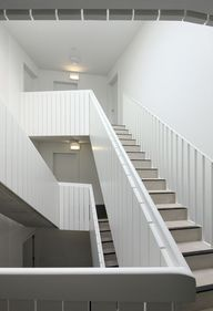 Panelled stairs