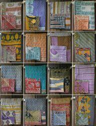 Amazing kantha quilt