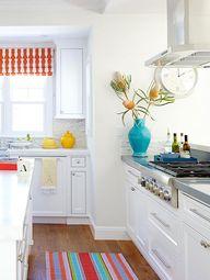 All white kitchen wi
