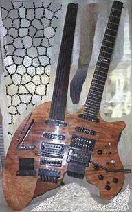 Yggdrasil the Guitar  An impressive beast, Yggdrasil, crafted by Fredrik Nevborn,