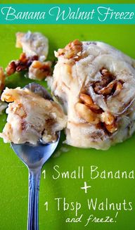 Banana Walnut Freeze