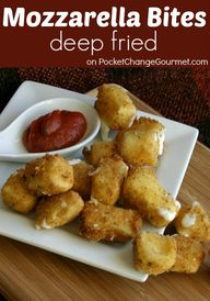 Deep Fried Mozzarell