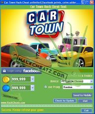 Car Town Hack Cheat...