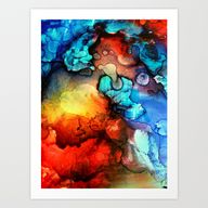 Drops Art Print by S...
