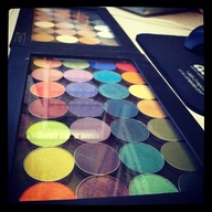 My makeup geek eyesh...
