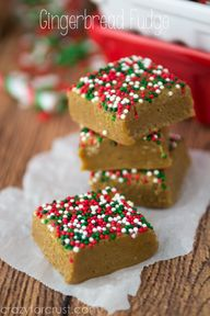 Gingerbread Fudge -