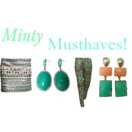 """Minty Musthaves by"