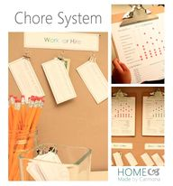 Chore Charts for the
