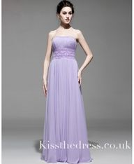 Purple Strapless Chi