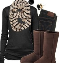 Winter outfit! LOVE