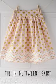 Tween Skirt Sewing T