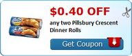 $0.40 off any two Pi