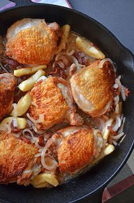 Pan-Roated Chicken w