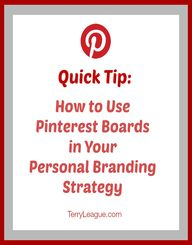 Use Pinterest Boards